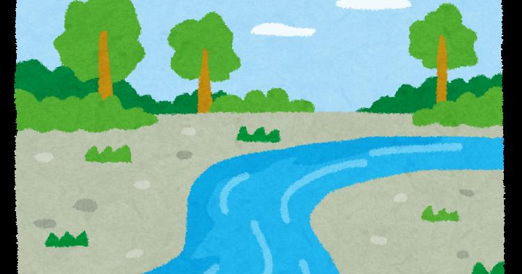 東北の川 Japanese northeastern river